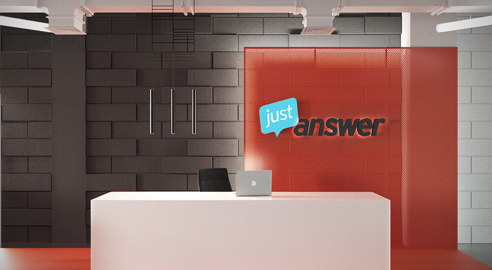 Офіс компанії Just Answer