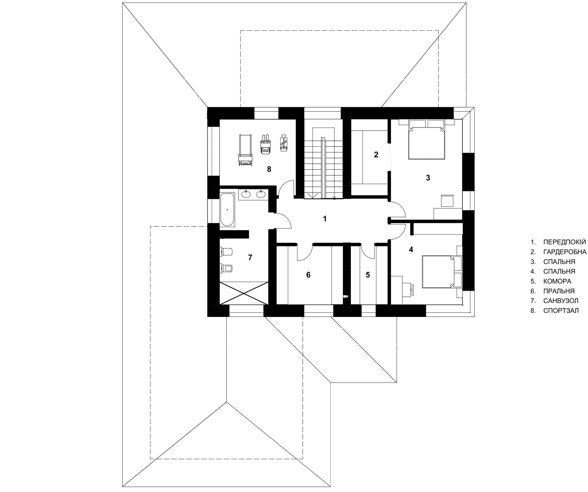 План 2-го поверху